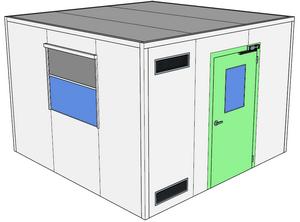Kit for isolation room